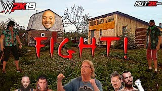 WWE 2K19 | ИНТЕРАКТИВ СО ЗРИТЕЛЯМИ - AGT SHOW (Вечеринка у Али на даче) ЗАПИСЬ СТРИМА ОТ 13.04.19