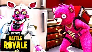 *ESCAPE* FROM FIVE NIGHTS AT FREDDY'S | Fortnite Battle Royale| | [FACE CAM!]