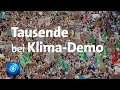 Aachen: Fridays for Future-Protest - Reportage und Interviews