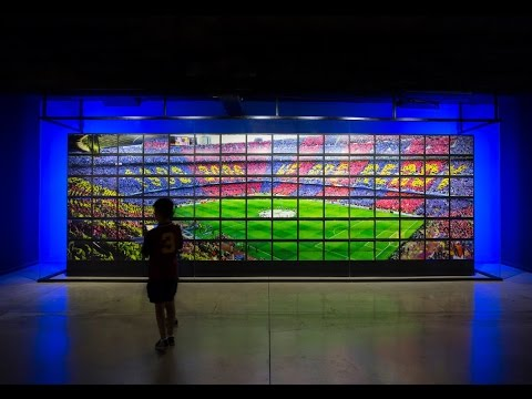 Camp Nou Experience (FC Barcelona museum): new multimedia facilities
