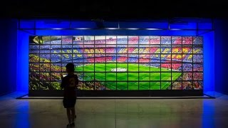 The fc barcelona museum has opened two new facilities this summer which were renovated to make photographs and videos centre stage. first attraction ...