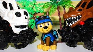 Мультики Щенячий патруль новые серии про Монстр Траки Развивающие мультики про машинки для детей
