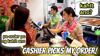 Baixar CASHIER PICKS MY ORDER FOR 5 DAYS CHALLENGE! (Philippines) | Tyra C. ❤