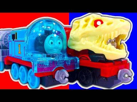Thomas The Tank Space Mission Dinosaur James Talking Adventures Train Toys