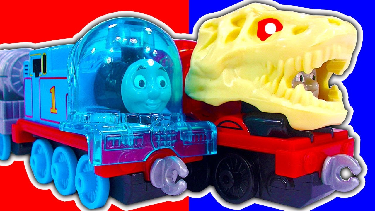 Toys And Adventures : Thomas the tank space mission dinosaur james talking