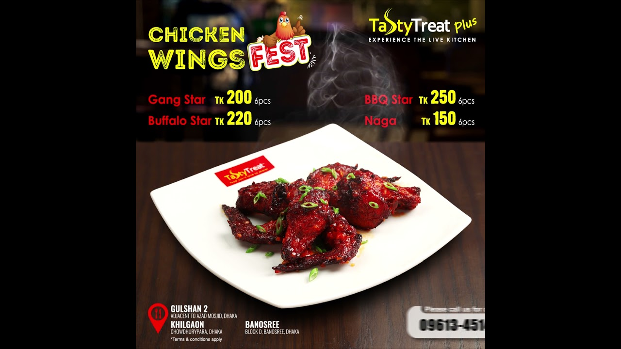 Tasty Treat Plus Chicken Wings Fest
