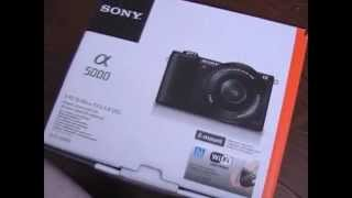 Mirrorless Camera SONY A5000 Unboxing Thumbnail