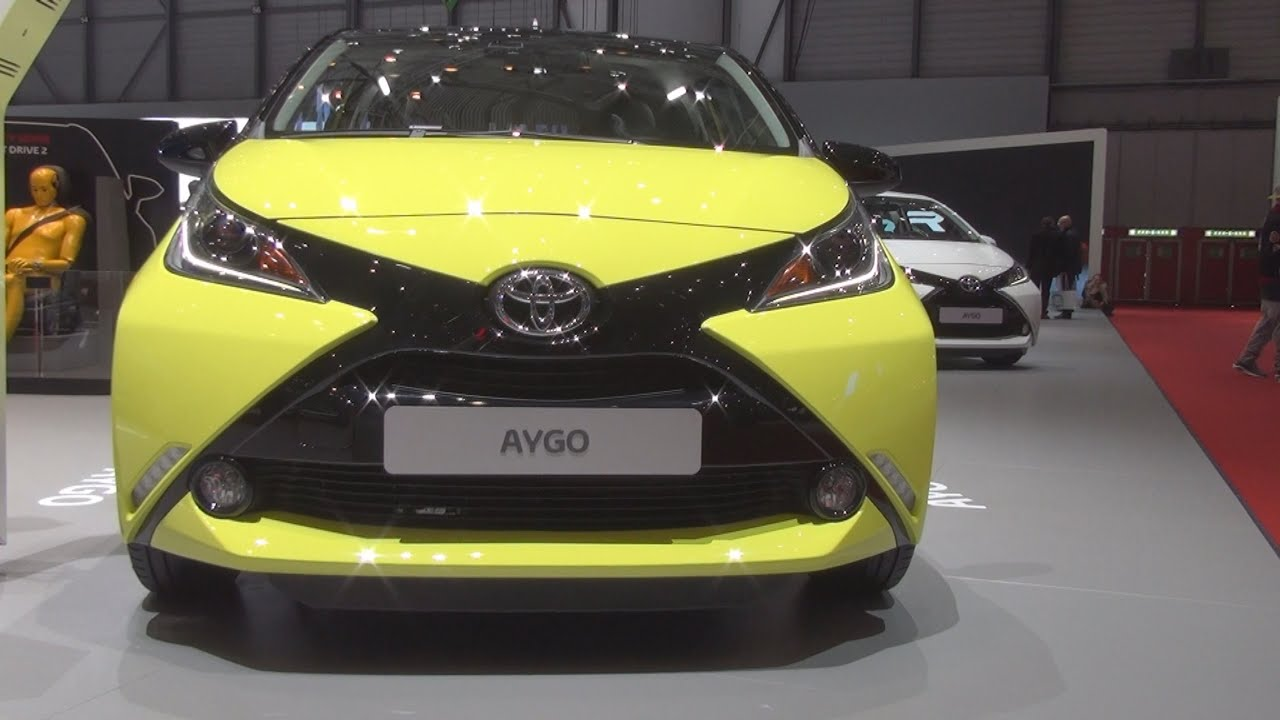 toyota aygo 1 0 vvt i x cite 2016 exterior and interior in 3d youtube. Black Bedroom Furniture Sets. Home Design Ideas