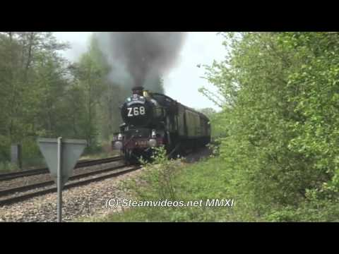 The Great Britain IV - Day 9 with 5029 Nunney Castle 24-04-11