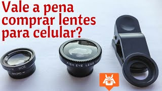 Lentes para Celular - Como funcionam as lentes  Macro, Wide e FishEye.
