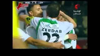 شاهد أهداف فوز بجاية الجزائري على الافريقي التونسي 2-0 ليصعد لمواجهة الزمالك