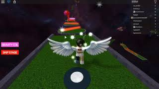🔥 ROBLOXUN'S MOST BEAUTIFUL TRACK JEU !! 🔥 / Roblox Galactic Golf Obby / Roblox English / Melih Brother