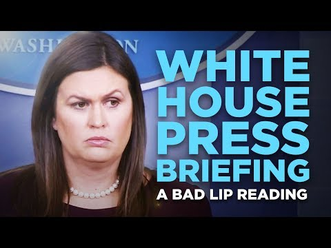 Aly - Bad Lip Reading - White House Presser Edition