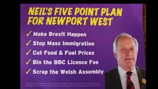 Neil Hamilton & Stuart Agnew Newport Wales March 30th 2019