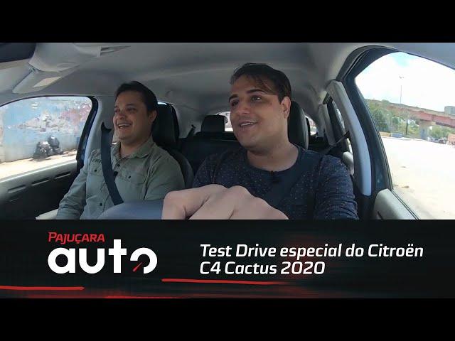 Confira o Test Drive especial do CitroënC4 Cactus 2020