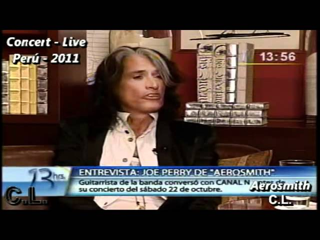 Joe Perry South America Interview