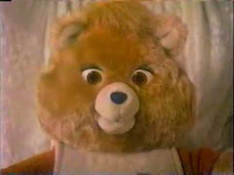 Teddy Ruxpin Commercial