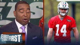 Cris on Darnold's role with the Jets, Eli's comments on G-Men's offense | NFL | FIRST THINGS FIRST