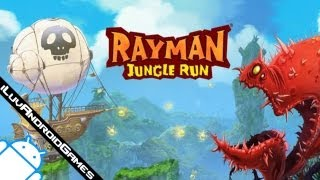 Rayman Jungle Run Gameplay