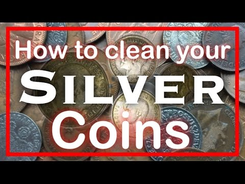 Metal Detecting How To Clean Your Silver Coins