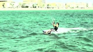 Kiteboarding Go Pro Hero2 Kite Mallorca Secret Spot.mov