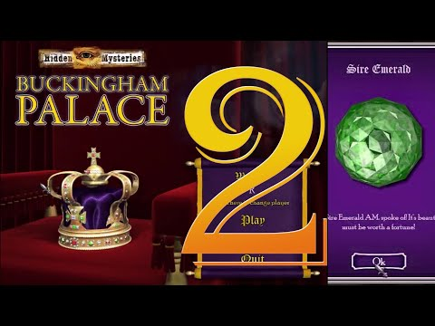 Mac OSX Gameplay - Big Fish Games - Buckingham Palace - Act 2 - (HD 1080p) No Commentary