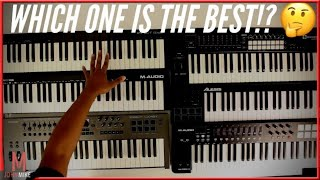 Best 49-61-Key Midi Controllers From $100-$200!(2019)