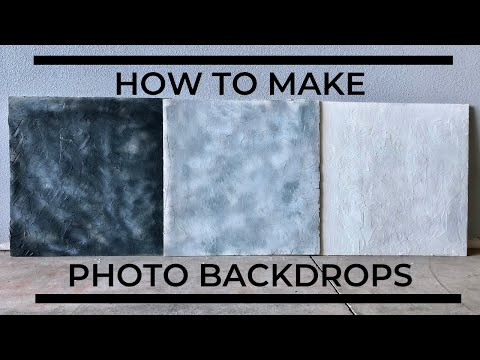 How To Make Photo Backdrops- Food Photography DIY basics for Bloggers and Vloggers!