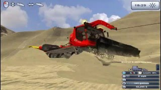 PistenBully Play • Ski Region Simulator 2012 • Steep Slope