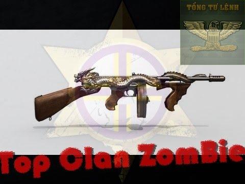 [Top Clan ZomBie] THOMPSON VIP SĂN ZOMBIE NHIET HOÀNG LĂNG Cầm Key