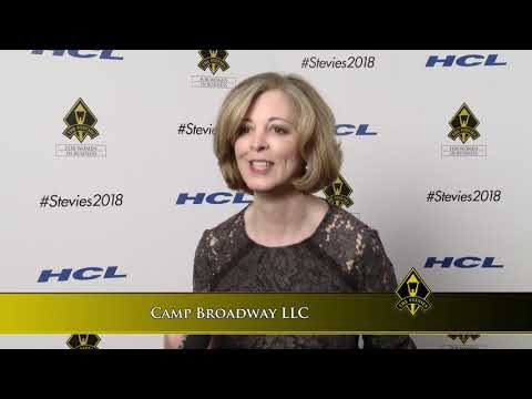 Camp Broadway LLC wins in the 2018 Stevie® Awards for Women in Business