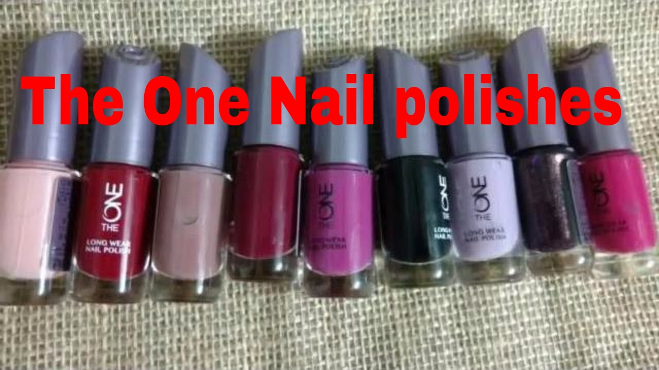 Oriflame The One long Wear Nail polish haul | swatches | Isha ...