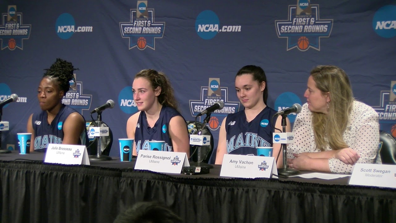 umaine women s basketball press conference at texas youtube