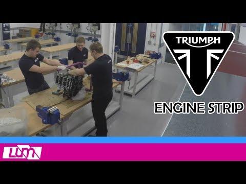 Stripping a Formula Student Engine! | Triumph Daytona  Engine Strip