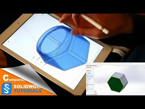 Creating A Part In Shapr 3D And SolidWorks