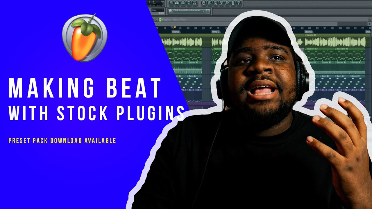 How To Make A Beat In FL Studio With STOCK PLUGINS