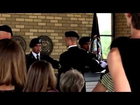 Lieutenant Colonel Larry Rowe Memorial Service   YouTube