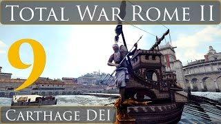 Total War Rome 2 DEI Carthage Campaign Part 9