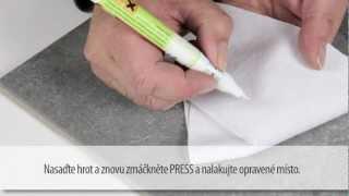 picobello // Set na obklady a keramiku - opravu navrtaných otvorů a odštípnuté glazury, dlažbě