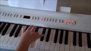 How to play Hoppipolla on piano by Sigur Ros (studio version) Piano Tutorial Part 1