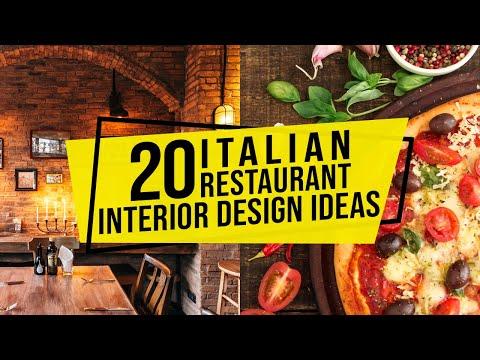 20 Italian Restaurant Interior Design Ideas For Furniture Colors