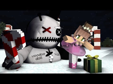 Monster School: Creepy Christmas Part 2/2 - Minecraft Animation