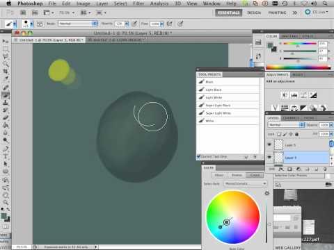 1303 Photoshop CS5 Color