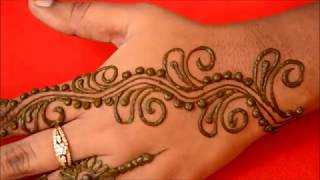 Simple Easy Mehndi Designs For Hands-Easy Mehndi Designs