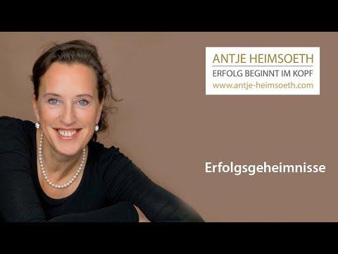 Erfolgsgeheimnisse – von Antje Heimsoeth