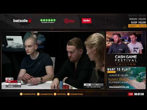 CGF TALLINN APRIL 2018 / DAY 1 / 2-5-10 NLH