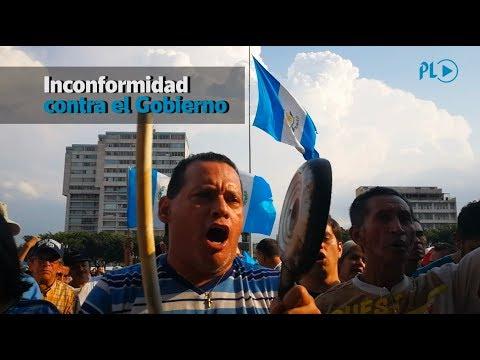 Manifestación pacífica contra el Gobierno de Jimmy Morales | Prensa Libre