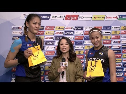 MATCH MVP: Jaja Santiago and EJ Laure | PSL All-Filipino Conference 2017