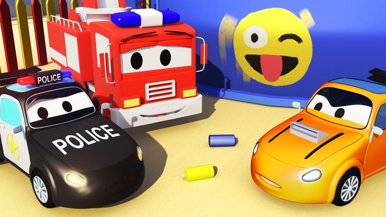 Tyler's being Accused   Car Patrol   Car City World App