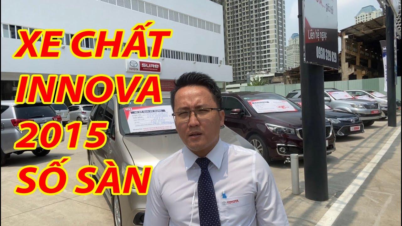 Giá xe Toyota Innova 2015 cũ E số sàn hiện tại bao nhiêu?